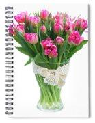 Vase Of Tulips Spiral Notebook
