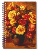 Bouquet Of Roses 1 Spiral Notebook