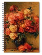 Bouquet Of Roses 1900 Spiral Notebook