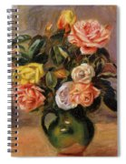 Bouquet Of Roses 2 Spiral Notebook
