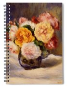 Bouquet Of Roses Spiral Notebook