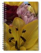 Bouquet Of Beauty Spiral Notebook