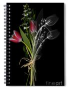 Bouquet X-ray Spiral Notebook