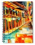Bourbon Street Blitz Spiral Notebook