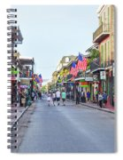 Bourbon Street - New Orleans Louisianna Spiral Notebook
