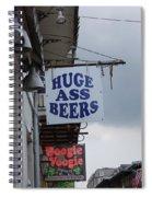 Bourbon Street Signs Spiral Notebook