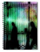 Bourbon Street Stroll Spiral Notebook