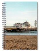 Bournemouth Pier No 2 Spiral Notebook