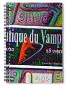 Boutique Du Vampyre -  New Orleans Spiral Notebook