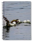 Bouyed Sea Otter  Spiral Notebook