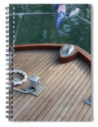 Bow And Chain  Spiral Notebook