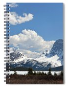 Bow Lake Vista Spiral Notebook