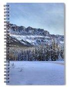 Bow Valley Castle Cliffs Spiral Notebook