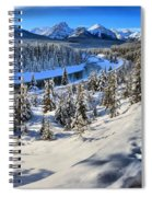 Bow Valley Mountains Spiral Notebook