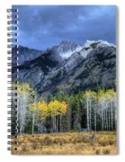 Bow Valley Parkway Banff National Park Alberta Canada II Spiral Notebook