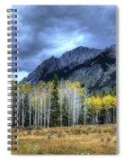 Bow Valley Parkway Banff National Park Alberta Canada IIi Spiral Notebook