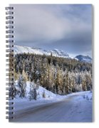 Bow Valley Parkway Winter Scenic Spiral Notebook
