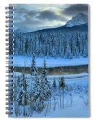 Bow Valley River Giant Panorama Spiral Notebook