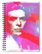 Bowie 70s Chic  Spiral Notebook