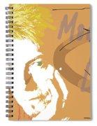 Bowie Modern Love  Spiral Notebook