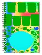 Bowl Of Cherries 3 Spiral Notebook