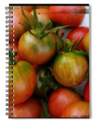Bowl Of Heirloom Tomatoes Spiral Notebook