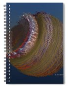 Bowl Of Metal Spiral Notebook
