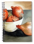 Bowl Of Onions Spiral Notebook