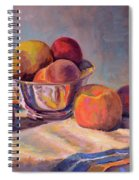 Bowl With Fruit Spiral Notebook