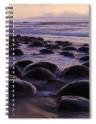 Bowling Ball Beach California 2 Spiral Notebook