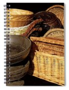 Bowls And Baskets Spiral Notebook