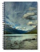 Bowman Lake Montana Spiral Notebook