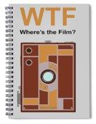Box Brownie Spiral Notebook