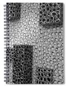 Box  Circles Squared 2 Spiral Notebook