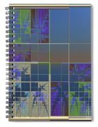 Box Design Spiral Notebook