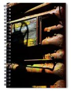Boxcar Past Its Time Spiral Notebook