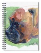 Boxer Pup Spiral Notebook