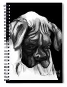 Boxer Puppy Spiral Notebook