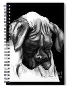 Boxer Puppy Spiral Notebook