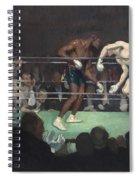 Boxing Match Spiral Notebook