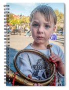 Boy With A Horn _ Nola Spiral Notebook