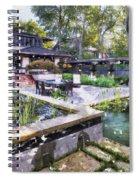 Boynton House Oil Painting Spiral Notebook