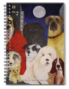 Boys Night Out Spiral Notebook