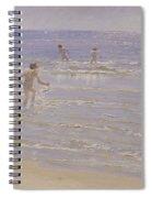 Boys Swimming Spiral Notebook