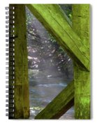 Braced With Moss Spiral Notebook