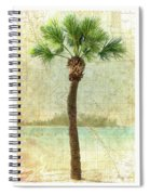 Bradenton Palm Spiral Notebook
