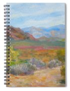 Bradshaws, West Of Phoenix Spiral Notebook