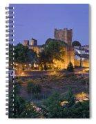 Braganca Dusk Panorama Spiral Notebook