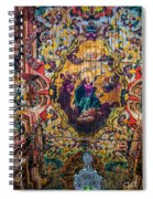 Braganca's Painted Ceiling Spiral Notebook