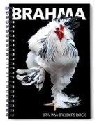 Brahma Breeders Rock T-shirt Print Spiral Notebook